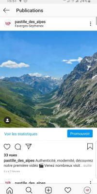 Instagram Pastille des Alpes